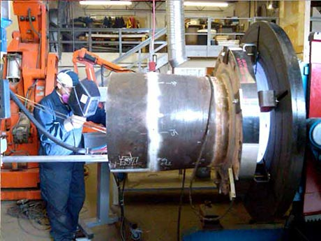 Paragon FusionClad weld overlay spool for Syncrude